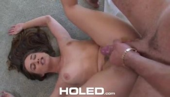 Asian milf gets plenty of cock in a hardcore threesome banging